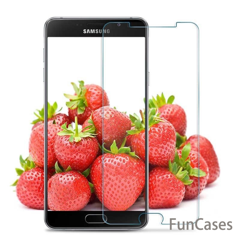 For Samsung Galaxy A5 A7 A8 J2 PRO 2018 A3 A5 A7 2017 Tempered Glass J1 J2 J3 J5 J7 2016 J510 Anti Shatter Screen Protector Film
