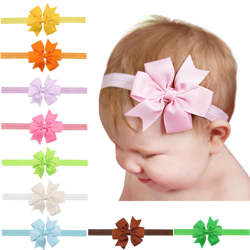 1 Piece MAYA STEPAN Children Swallowtail Bow Hair Head Band Accessories Baby Newborn Girls Hair Rope Headband Headwear Headwrap