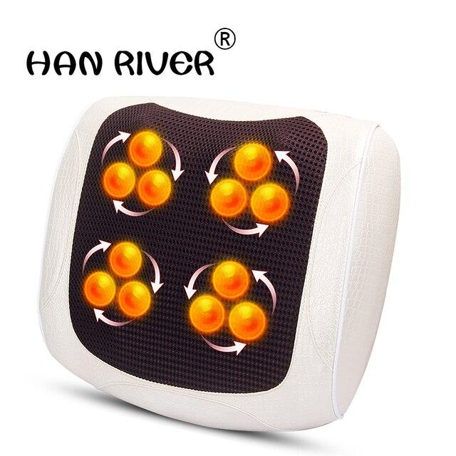Almofada multi função massagem travesseiro massageador massagem travesseiro doméstico travesseiro elétrico
