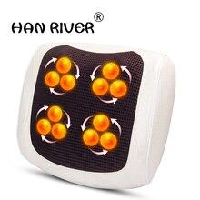 Pad multi funktion massage kissen massager massage kissen haushalt elektrische kissen