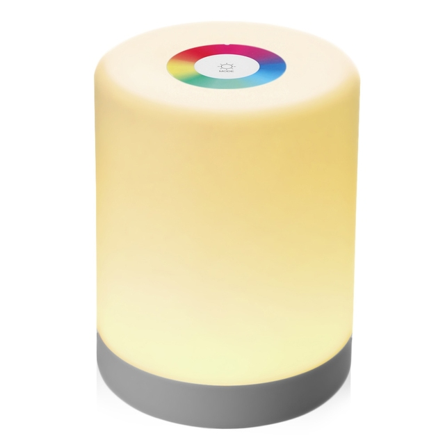 Led Night Light Intelligent Touch Lamp Portable Hook Colorful Induction Dimmer For