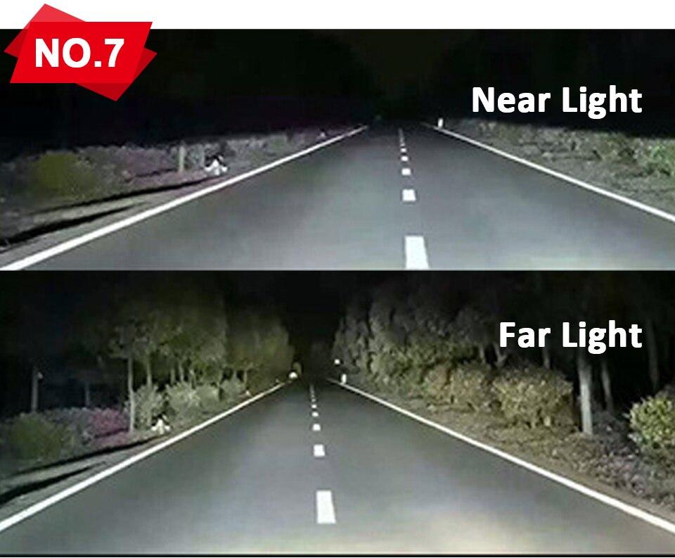 Aceersun X3 Series Fanless 50W H7 LED Car Headlight Bulbs WhiteAmber 6000lm H7 Auto Headlamp LED Car Bulb 12V 3000K6500K8000K (10)