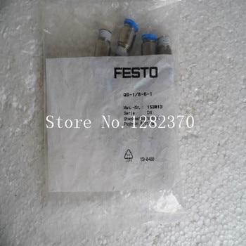 [SA] New original authentic special sales FESTO gas fitting QS-1 / 8-6-I stock 153 013 --20pcs/lot