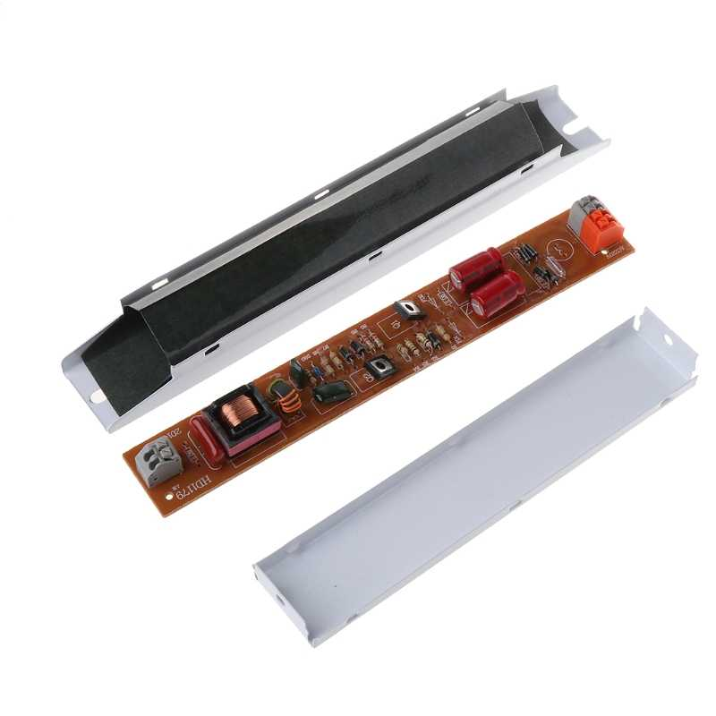 1 шт. электронные балласты 220-240 В переменного тока 36 Вт широкое напряжение T8 электронный балласт люминесцентные балласты для ламп 3 см * 21 см