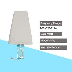 Image 5 - 2G GSM 900 3G WCDMA 2100 טלפון סלולרי אות מהדר 70dB רווח GSM 900 WCDMA 2100 מגבר נייד אות מאיץ LCD תצוגה