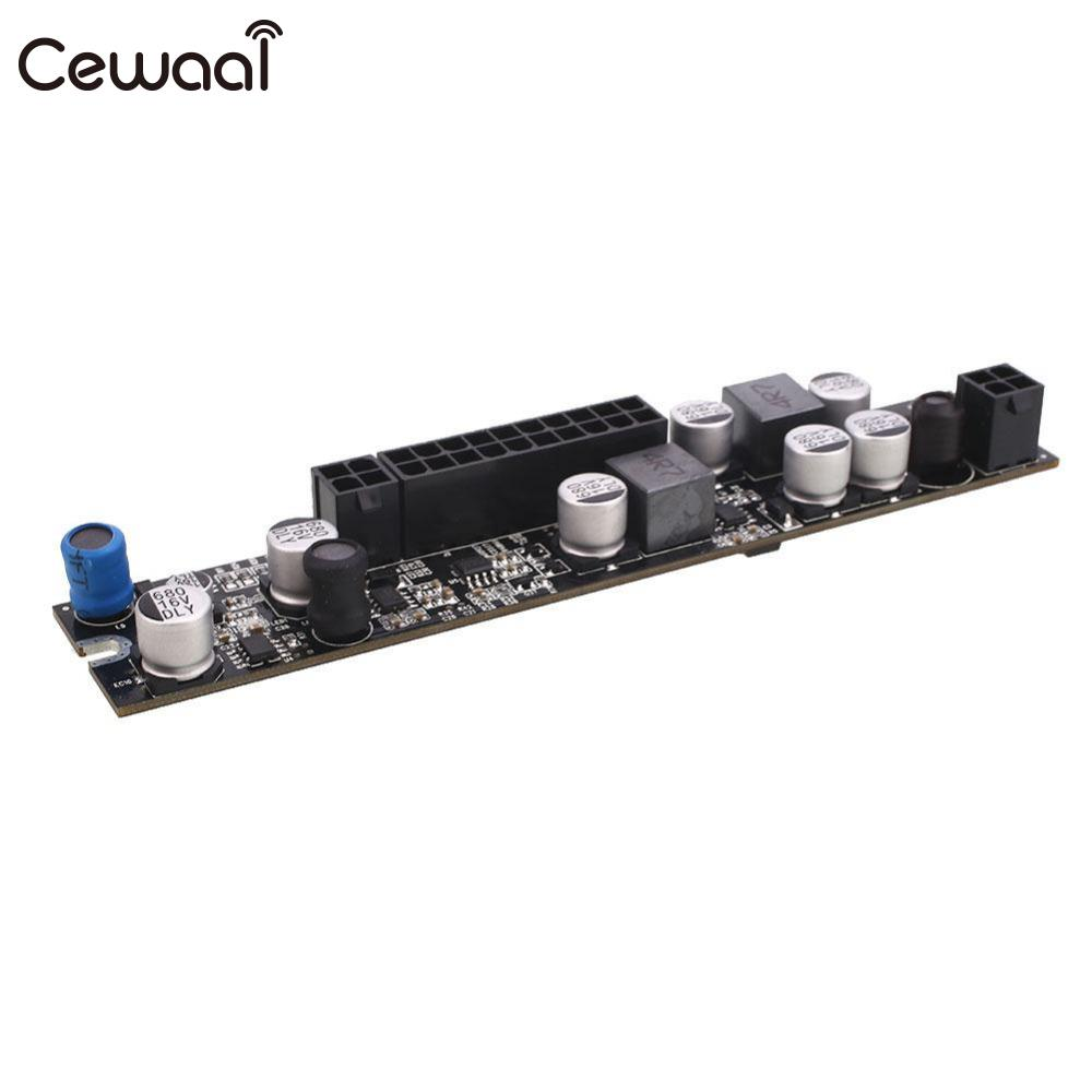 Cewaal LR1107 180W 12V Computer Power Board All Solid Capacitors ATX High Quality Computer Cables Connectors mei wan and cherry universal hood board computer board control panel compatible with all brands of range hoods all