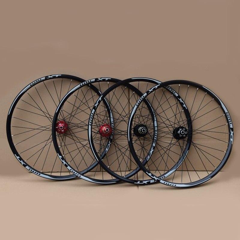 Super bon vélo roues vtt VTT 26 27.5 29er 32 H frein à disque 11 vitesses 4 roulements vélo roues vélo partie