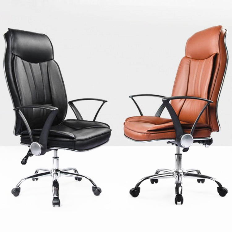 Fashion Luxury Leisure Office Chair Ergonomic Soft Computer Chair Lifting Lying Thicken Cushion Heighten Backrest Swivel Chair luxury fashion super soft leisure lying boss chair rotary lifting computer chair with footrest thicken cushion swivel chair