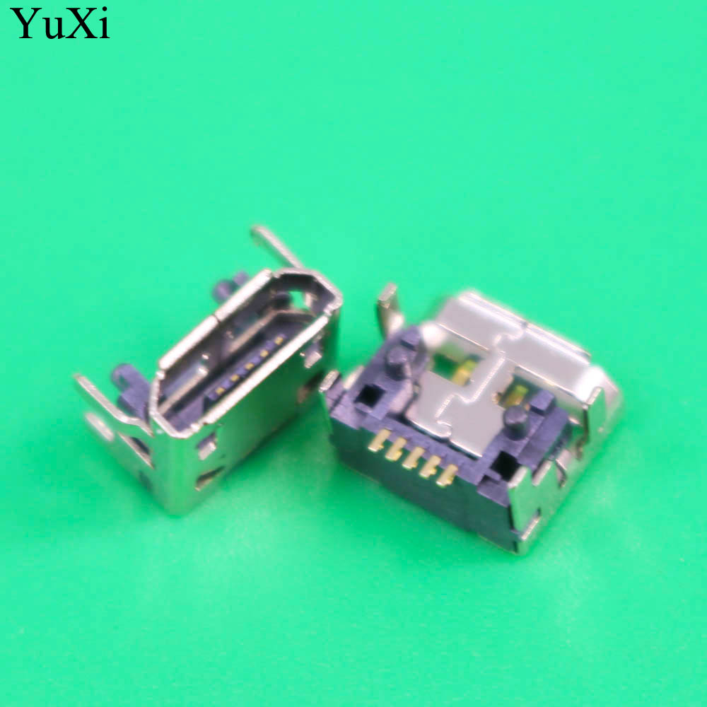 YuXi  For JBL Charge FLIP 3 Bluetooth Speaker New Female 5 Pin 5pin Type B Micro Mini USB Charging Port Jack Socket Connector