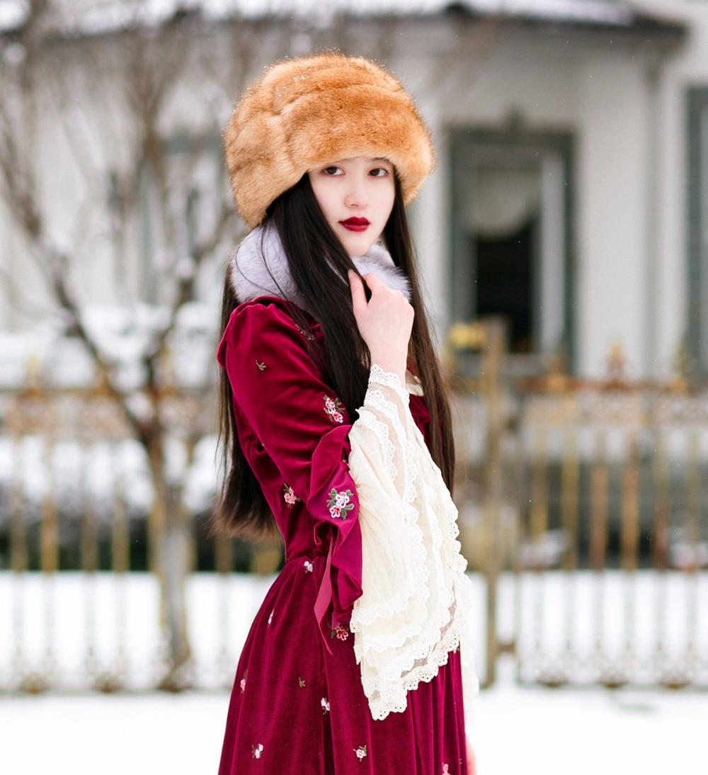 Dentelle Sissi Robe Bleu Automne 2017 Chinoiserie Vintage Broderie bourgogne Velours Lynette's Femmes Princesse Royal Français Oq78wI