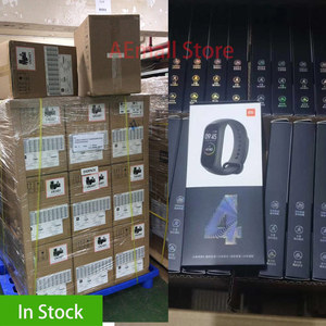 Image 3 - Global Version Xiaomi Mi Band 4 Smart Wristbands Miband 4 Bracelet Color Screen Heart Rate Fitness Bluetooth 5.0 Chinese Version