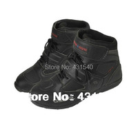 Motorcycle Boots Pro biker SPEED Bikers Moto Racing Boots Motocross Motorbike Shoes Black White Red 38 39 40 41 42 43 44 45 BA5
