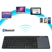 Bluetooth Keyboard TouchPad Wireless Positioning Office Battery For Laptop/notebook/PC/Computer