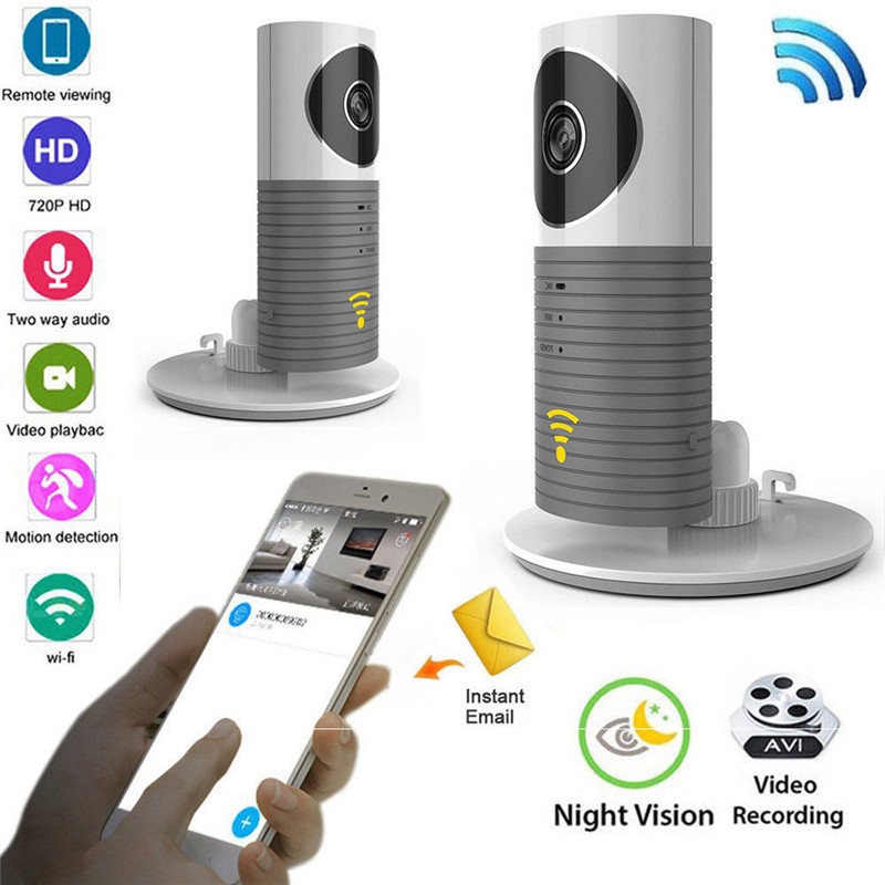720P WiFi Baby Monitor CCTV Camera Infrared Household font b Wireless b font P2P Security Surveillance