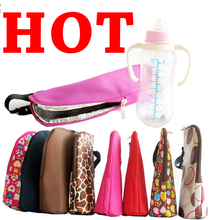 Insulation stroller hanging organizer thermal storage feeding bottle kids holder color