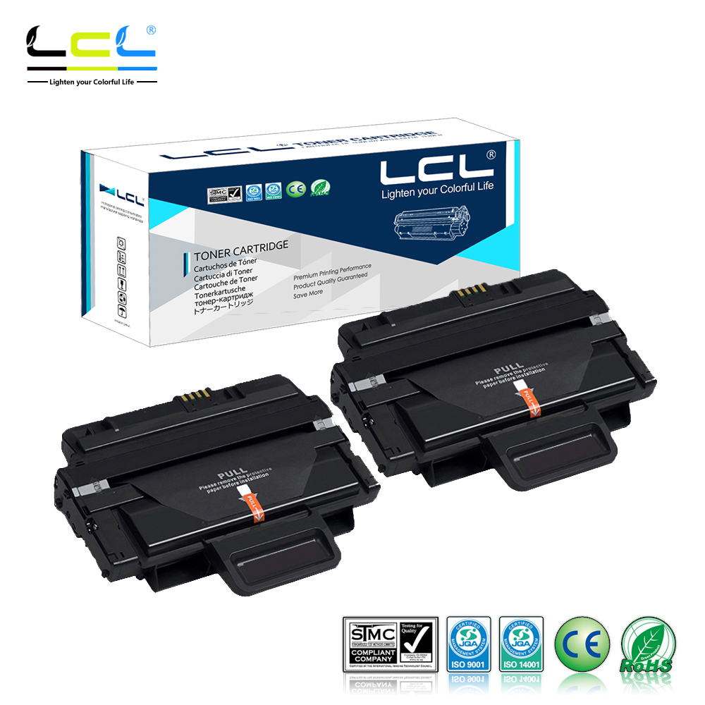 LCL MLT-D204L MLT-D204S MLT D204 5000 Pages (2-Pack Black) Toner Cartridge Compatible for Samsung SL-M3325/3825/4025/3375/3875 toner for samsung 2071 mlt d111 see mltd 1112 s xaa xpress slm 2070f laser copier cartridge free shipping