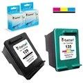 Printer Ink Cartridges for HP 129 135  hp129 hp135 Photosmart C4110 C4140 C4150 C4170 C4173 C4175 C4180 C4183 C4188 C4190 C4193