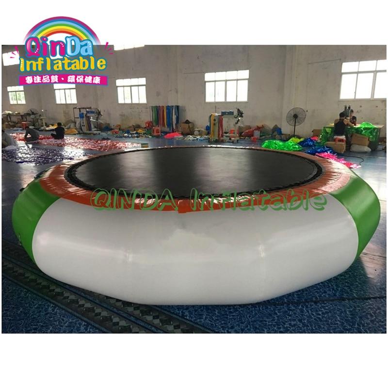Trampoline sautant gonflable de haute qualité jeux de parc aquatique flottant jouets gonflables d'équipement de l'eau