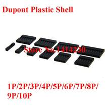 Hot Sale DuPont Plastik Shell 2.54 Mm Single/Double Row Konektor DuPont 1 P/2 P/3 p/4 P/5 P/6 P/7 P/8 P/9 P/ 10P 2*4pin/2 * 5pin Perumahan(China)