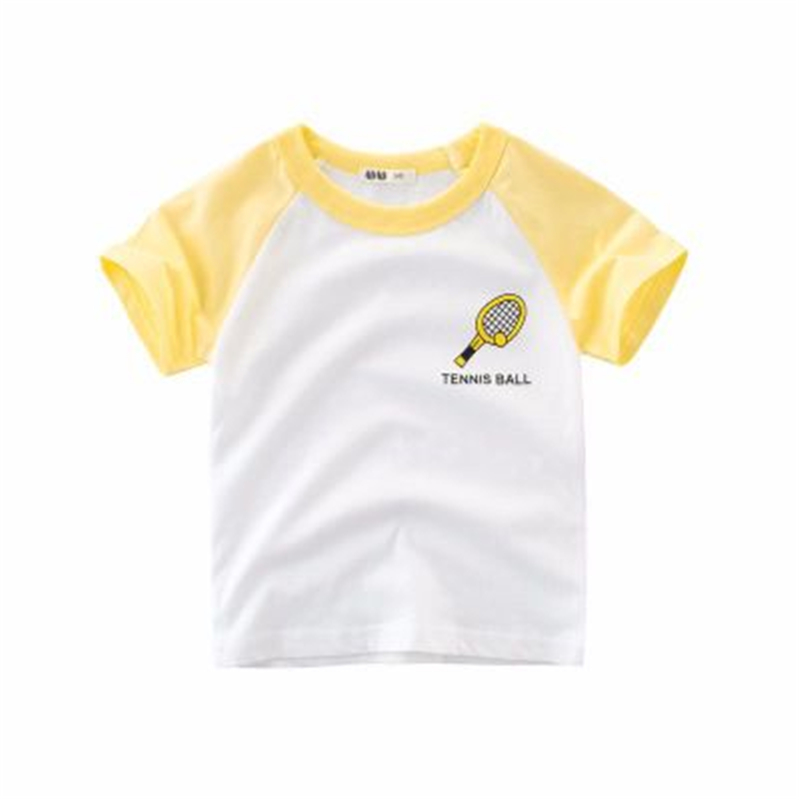 HziriP 2018 Summer Tops Kids Boy Printed Tops O-neck Short Sleeve Cotton T Shirt Casual Cute 4colors Children Boys T-shirt Cothe