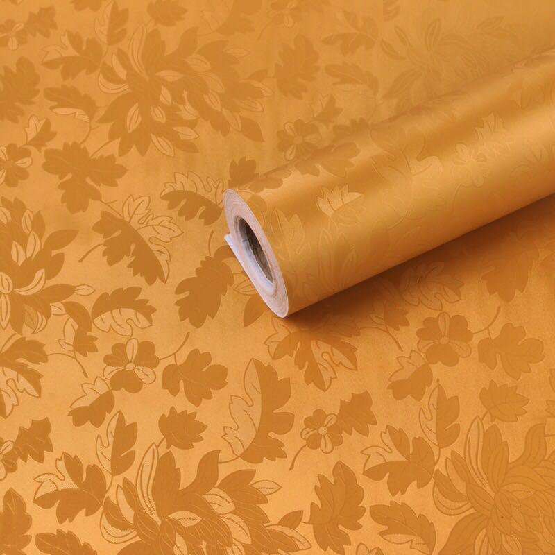 0.45 m * 10 m rouleau taille PVC auto-adhésif vinyle papier peint enduit soutenu pour salon autocollants décoration de chambre intérieure