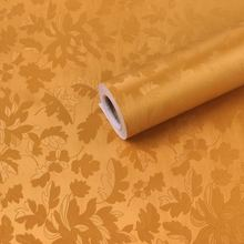 цена на 0.45m*10m roll size PVC Self adhesive vinyl paper backed coated wallpaper for living room stickers interior room decoration