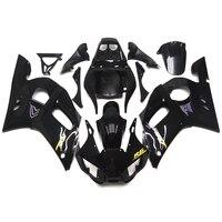 Fairings For Yamaha R6 98 99 00 01 02 1998 2002 Plastics ABS R6 Fairings Motorcycle Full Fairing Kits Gloss Black Carenes New