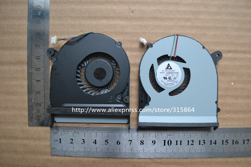 New laptop cpu cooling Fan for ASUS PU500 PU500C KDB0605HB -CK32