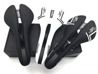 NEW San Marco ASPIDE Saddle Road Bike Black White Carbon Fiber Leather Saddles Bicycle Sillin Bici