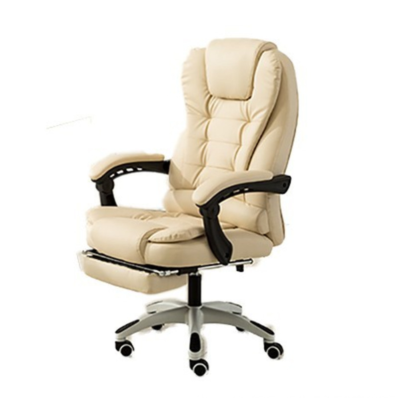 High Quality H-7 Gaming Poltrona Boss Chair Massage Synthetic Leather With Footrest Ergonomics Can Lie Office Furniture