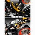 2015 nuevos auténtico de motos Kawasaki Z800 CNC titanium dirección del pie del amortiguador anti batidos amortiguación conjunto soporte