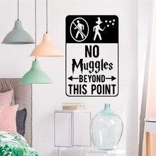 Creative beyound muggles Vinyl Kitchen Wall Stickers Wallpaper Nursery Kids Room Decor Decoration Murals
