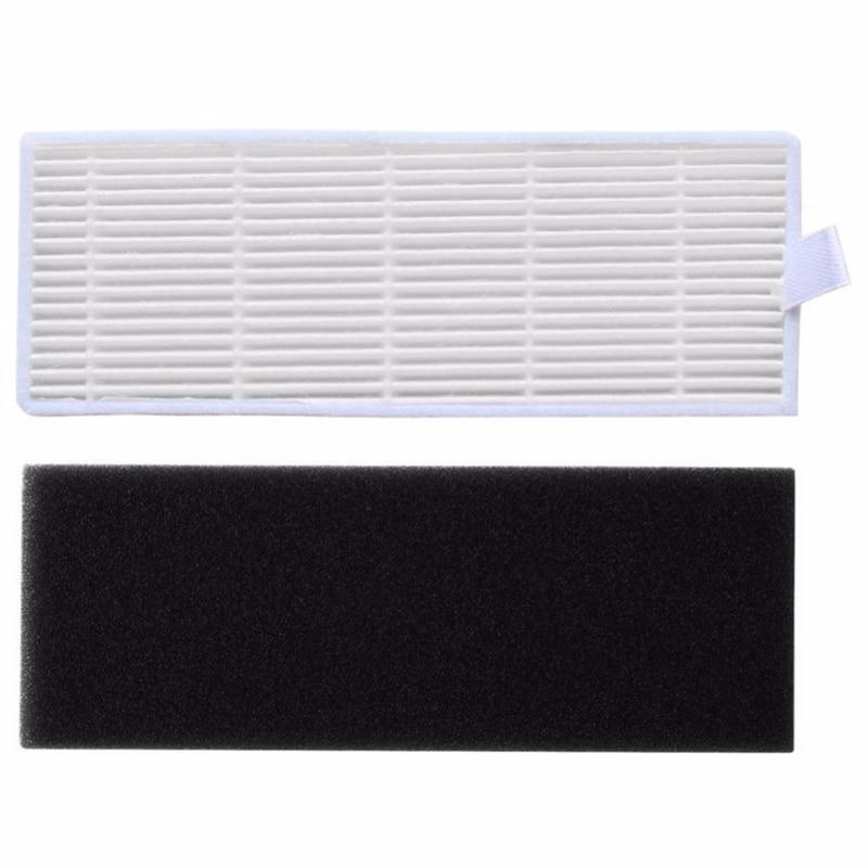 Hot 20 pçs/lote Substituições de Filtro HEPA & Filtros de Esponja Para o Ilife A4s A6 A4 A40 Poeira Filtro De Limpeza Aspirador de pó acessórios