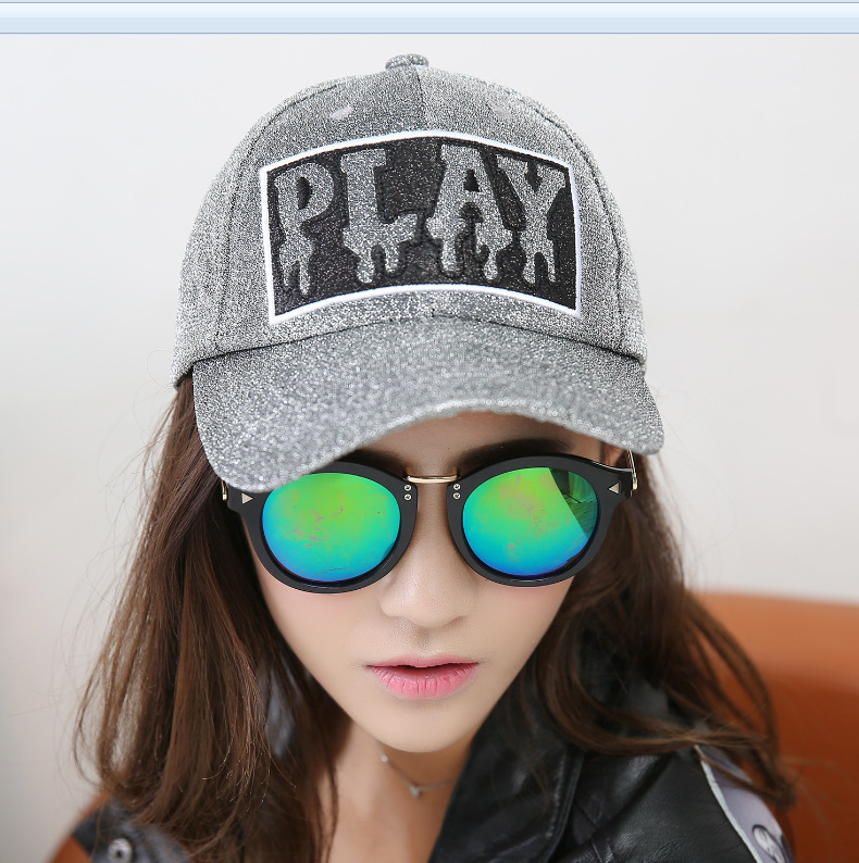 7eb24a8027f ... Gold Wire Line Print Letter Women s Hats Summer Sun Hip Hop Brand  Baseball Cap Female Snapback Caps Casual Hat. -10%. Click to enlarge