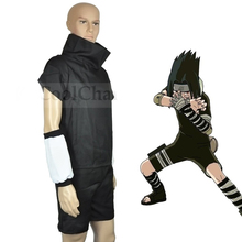 Calssic Anime Cosplay  Naruto  Uchiha Sasuke Cosplay Costumes  2th Generation Clothes  European  size Free Shipping the last naruto the movie uchiha sasuke cosplay costume custom made uniform hot sale free shipping