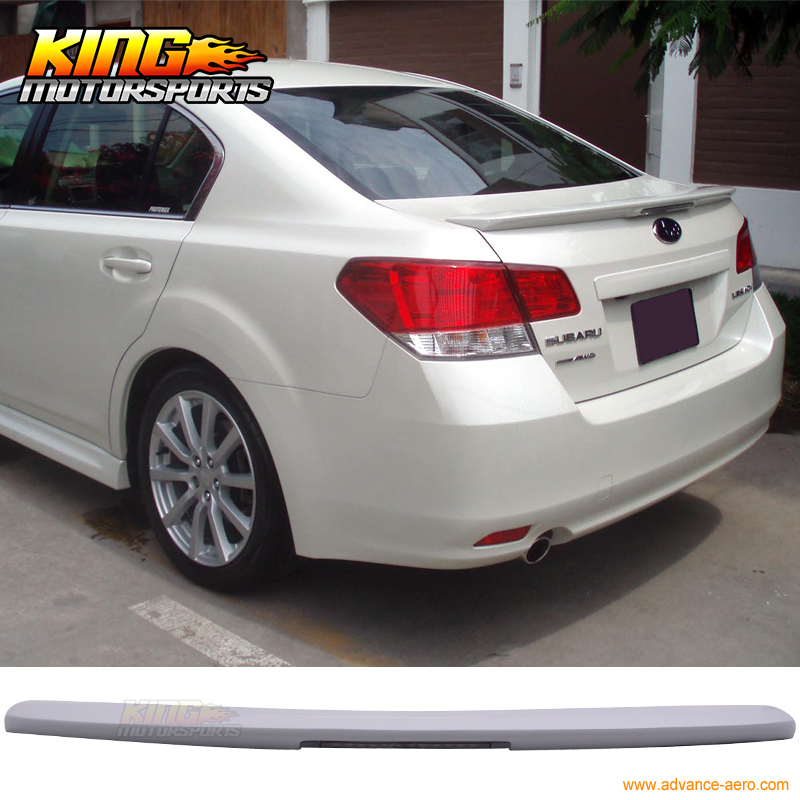 Brake Service Coupons >> For 10 14 Subaru Legacy Sedan 4Dr Trunk Spoiler LED 3RD Brake Light (FRP)-in Spoilers & Wings ...