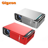 Gigxon T6 720P Projector Home Theater 3500 Lumen Portable Projector Mini Wireless WIFI Mini Home Cinema Miracast/Airplay