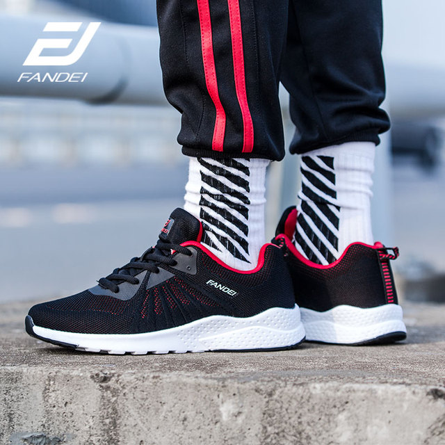 FANDEI Winter Running Shoes For Men Sneakers Sport Shoes for Male Outdoor Walking Sneaker Lace-up Breathable Mesh Mens Trainers 2
