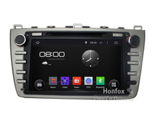 Android 5.1.1 Quad core Headunit DVD For Mazda 6 / Ruiyi/ Ultra 2008-2012 with HD 1024X600 Radio GPS NAVI DVR Camera
