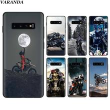 Moto Cross motorcycle sports Black Silicone Cases for
