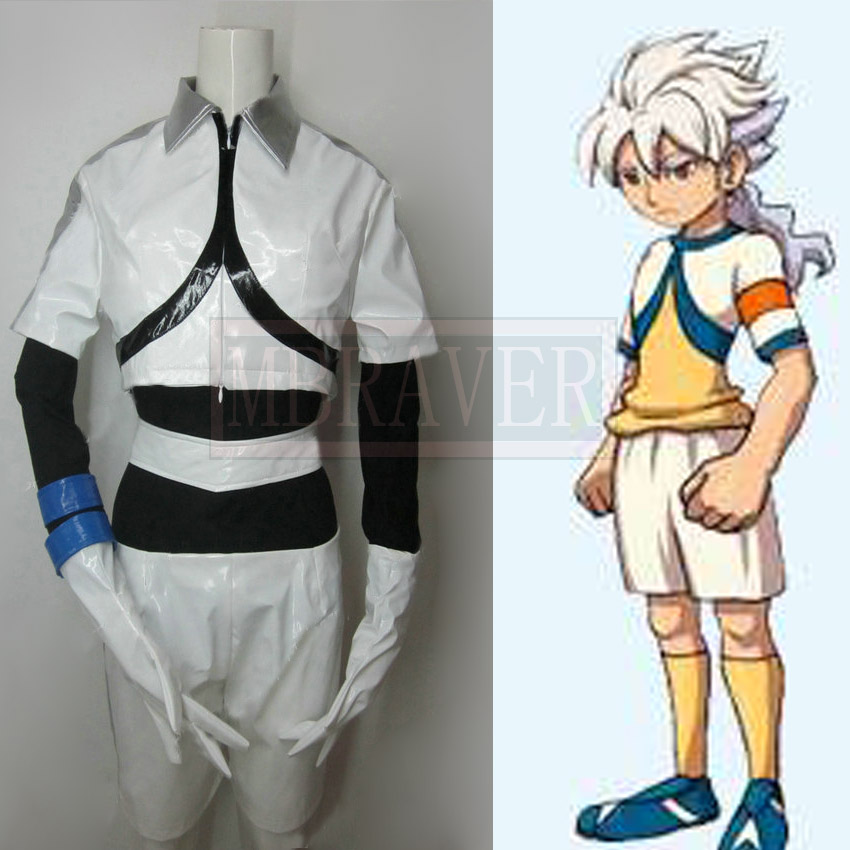 Hot Game Anime Movie Inazuma Eleven Urubida Party Uniform Cosplay Costume