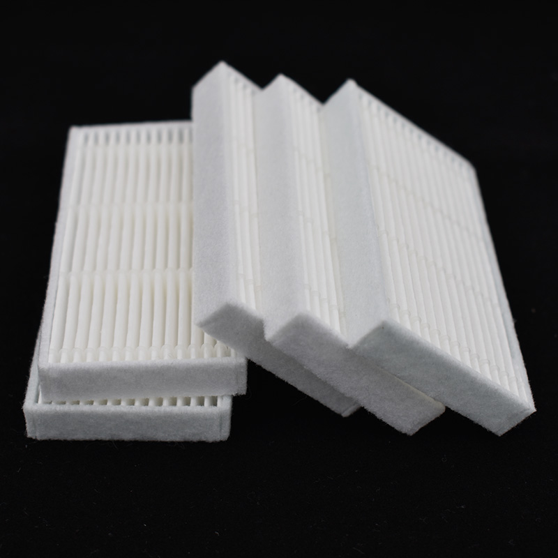 Robot Vacuum Cleaner HEPA Filter For Proscenic 780T 790t COCO SMART SUZUKA Snow Leopard KAKA Polar Bear Filters Spare Parts
