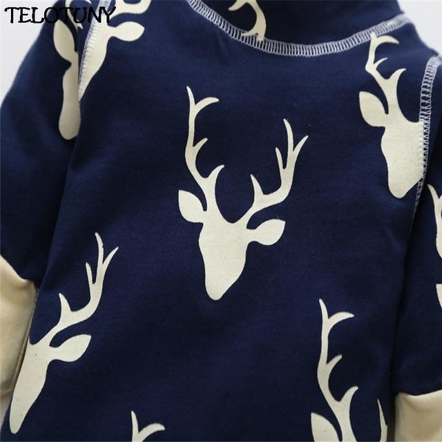 """""""Don't Moose With Me!"""" Longsleeved Deer Print Winter Jumpsuit  3"""