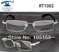 Fashion Model Eyeglasses Frame Accept Mixed Order Wooden Temples Optical Frames