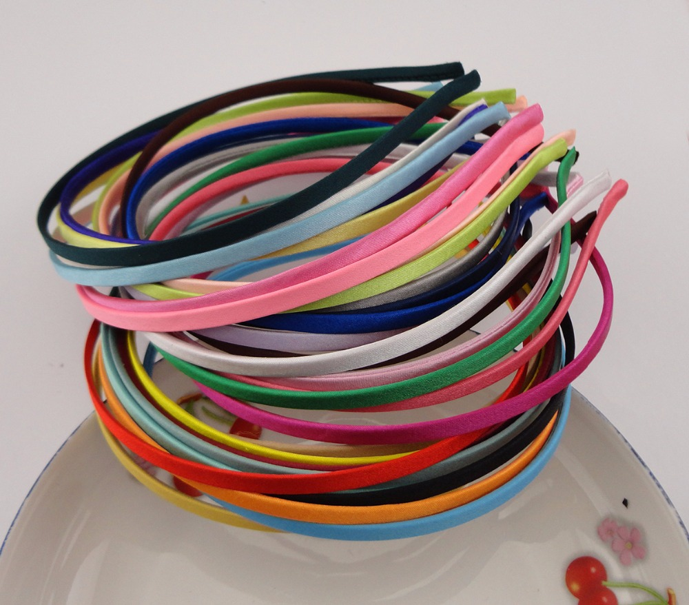 50PCS Assorted colors 5mm full fabric covered plain Metal Hair Headbands for DIY Hair jewelry,BARGAIN for BULK dahua 32ch nvr 16 poe 2u case 8 sata 1080p 200mbps gigabit rj45 android ios