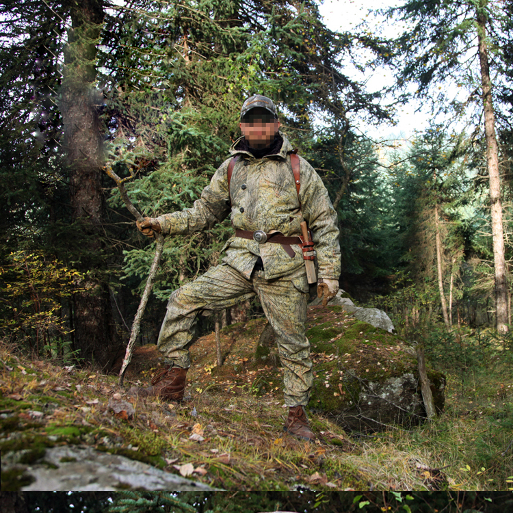 Outdoor Hunting Ghillie Suits Hiking Camping Camouflage Down Hiking Cotton Army Miltiary Coat Winter Tactical Police Jacket bionic ghillie suits maple leaf camouflage hunting ghillie suits