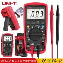 UNI-T Digital Multimeter Auto Range True RMS Meter LPF Filter LoZ AC DC V A TemperatureTest UT139S UT139E UT139C UT139B UT139A