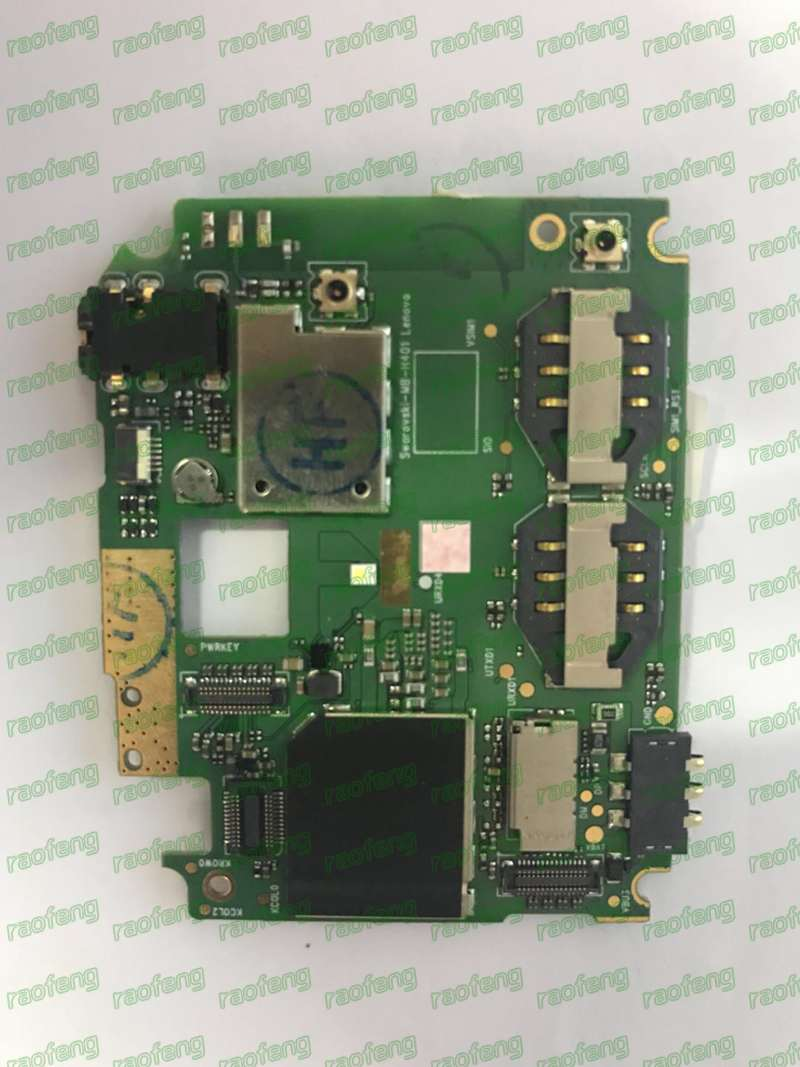 Raofeng Motherboard For Lenovo S820 Unlocked Disassembled Mainboard Test By One Well