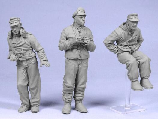 1/35 Resin Figures German Tankman 3pcs/set