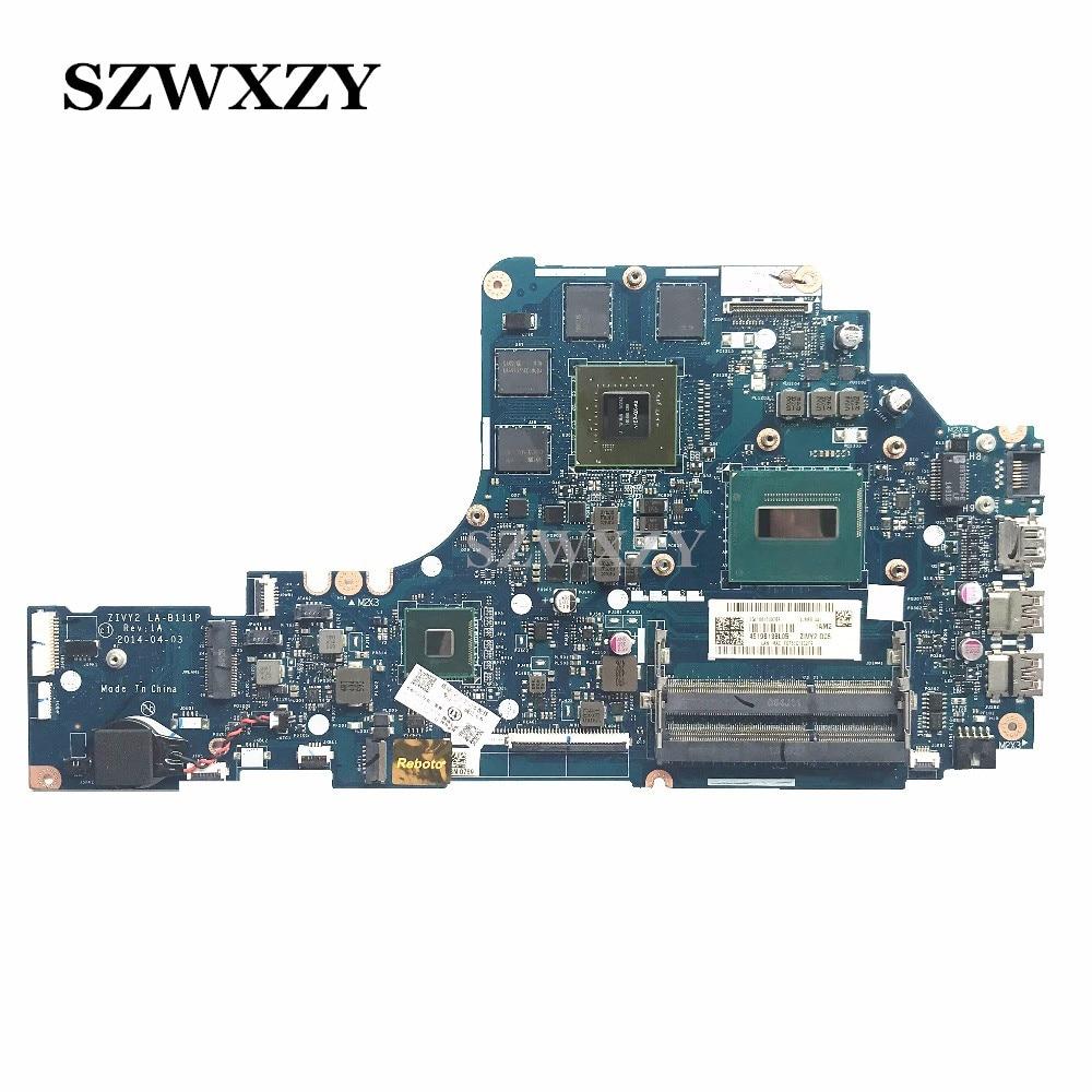 For Lenovo Y50 70 Laptop Motherboard GTX860M i7 4700HQ processor LA B111P 5B20F78852 Full Tested Free